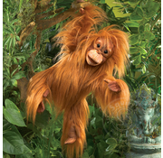 Folkmanis Folkmanis Baby Orangutan Puppet