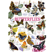 Cobble Hill Puzzles Cobble Hill Butterfly Collection Puzzle 1000pcs