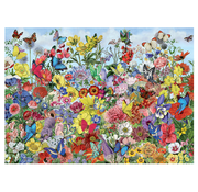 Cobble Hill Puzzles Cobble Hill Butterfly Garden Puzzle 1000pcs