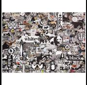 Cobble Hill Puzzles Cobble Hill Black and White Animals Puzzle 1000pcs