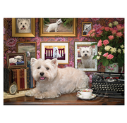 Cobble Hill Puzzles Cobble Hill Westies Are My Type Puzzle 1000pcs