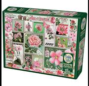 Cobble Hill Puzzles Cobble Hill Pink Flowers Puzzle 1000pcs RETIRED