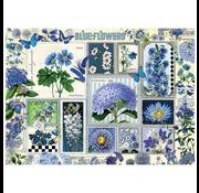 Cobble Hill Puzzles Cobble Hill Blue Flowers Puzzle 1000pcs RETIRED