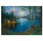 Cobble Hill Puzzles Cobble Hill Summer Night Puzzle 1000pcs RETIRED