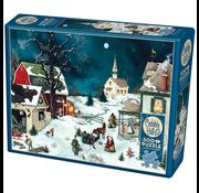 Cobble Hill Puzzles Cobble Hill Moonlit Winter Puzzle 500pcs RETIRED