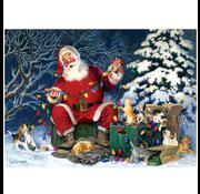 Cobble Hill Puzzles Cobble Hill Santa's Little Helper Puzzle 500pcs