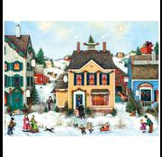 Cobble Hill Puzzles Cobble Hill Christmas Town Easy Handling Puzzle 275pcs