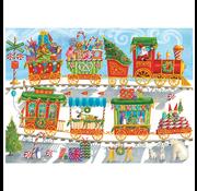 Cobble Hill Puzzles Cobble Hill Christmas Train Family Puzzle 350pcs