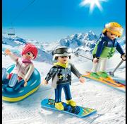 Playmobil Playmobil Winter Sports Trio RETIRED