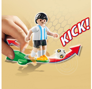 Playmobil Playmobil Soccer Player Argentina RETIRED