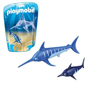Playmobil Playmobil Swordfish with Baby RETIRED