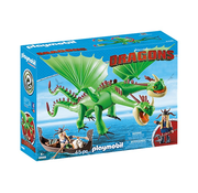 Playmobil Playmobil How to Train Your Dragon Twins with Barf and Belch RETIRED