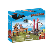 Playmobil Playmobil How to Train Your Dragon Gobber the Belch with Sheep Sling