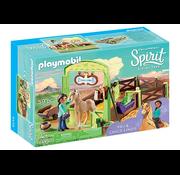 Playmobil Playmobil Spirit Horse Box Pru & Chica Linda RETIRED