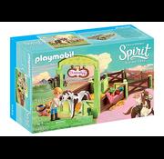 Playmobil Playmobil Spirit Horse Box Abigail & Boomerang RETIRED
