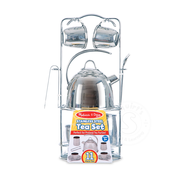 Melissa & Doug Melissa & Doug Stainless Steel Tea Set