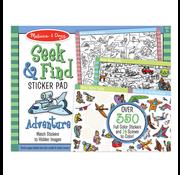 Melissa & Doug Melissa & Doug Seek & Find Sticker Pad Adventure