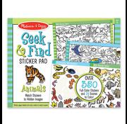 Melissa & Doug Melissa & Doug Seek & Find Sticker Pad Animals