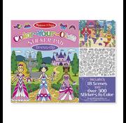 Melissa & Doug Melissa & Doug Color-Your-Own Sticker Pad Dress-Up
