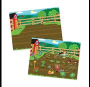 Melissa & Doug Melissa & Doug Reusable Sticker Pad Farm