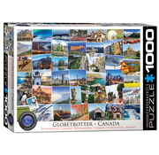 Eurographics Eurographics Globetrotter Canada Puzzle 1000pcs