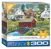 Eurographics Eurographics Old Covered Bridge XL Family Puzzle 300pcs
