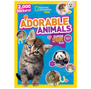 National Geographic National Geographic Kids Adorable Animals Super Sticker Activity Book