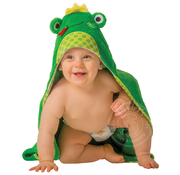 Zoocchini Flippy the Frog Baby Hooded Towel