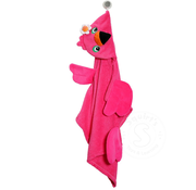 Zoocchini Franny the Flamingo Toddler Hooded Towel