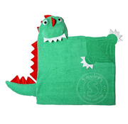 Zoocchini Devin the Dinosaur Toddler Hooded Towel