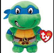 """TY TY Beanie Babies TMNT Leonardo 8"""" Reg"""