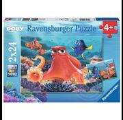 Ravensburger Ravensburger Disney Pixar Finding Dory Puzzle 2 x 24pcs
