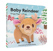 Chronicle Books Baby Reindeer Finger Puppet Board Book