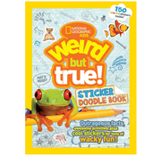 National Geographic National Geographic Kids Weird but True! Sticker Doodle Book