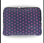Yumbox YumBox Poche Insulated Sleeve - Navy with Bird Print _