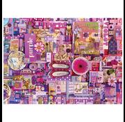 Cobble Hill Puzzles Cobble Hill Rainbow Collection Purple Puzzle 1000pcs