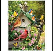 Cobble Hill Puzzles Cobble Hill Summer Birdhouse Puzzle 1000pcs