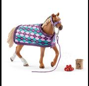 Schleich Schleich English Thoroughbred with Blanket