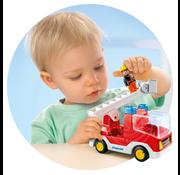 Playmobil Playmobil 123 Ladder Unit Fire Truck
