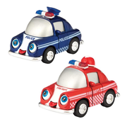 Schylling Pull Back Diecast Sonic Funny Vehicles