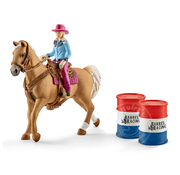 Schleich Schleich Barrel Racing with Cowgirl SNA EXCLUSIVE