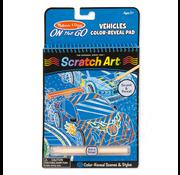 Melissa & Doug Melissa & Doug On the Go Scratch Art Color Reveal - Vehicles