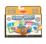 Melissa & Doug Melissa & Doug On the Go Water Wow! - Numbers, Colors, Shapes Splash Cards