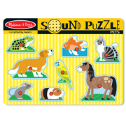 Melissa & Doug Melissa & Doug Pets Sound Peg Puzzle