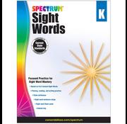 Spectrum Sight Words Grade K
