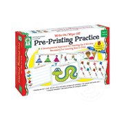 Key Education Write On/Wipe Off Pre-Printing Practice