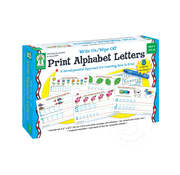 Key Education Write On/Wipe Off Print Alphabet Letters