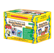 Key Education Photographic Learning Cards Nouns, Verbs, and Adjectives