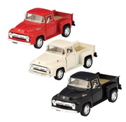 Schylling Pull Back Die Cast '56 Ford Pick Up Truck