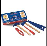 Schylling Little Helper Tin Tool Box